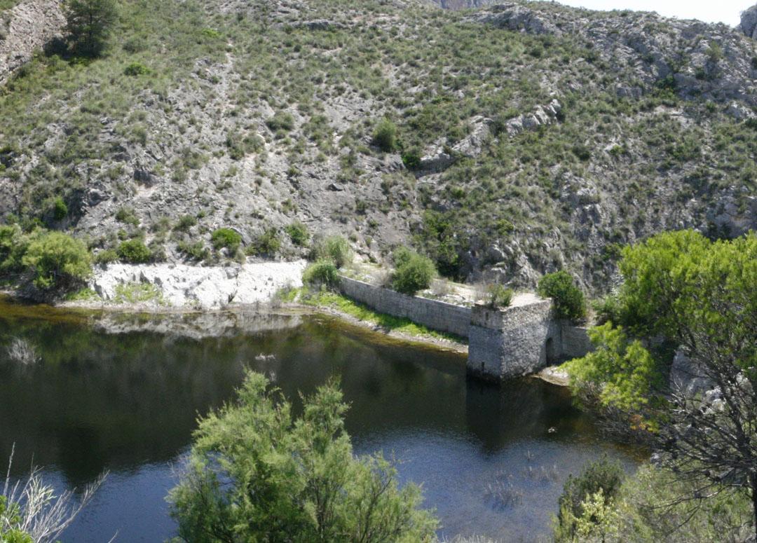 El Embalse de Relleu o Pantano del Amadorio