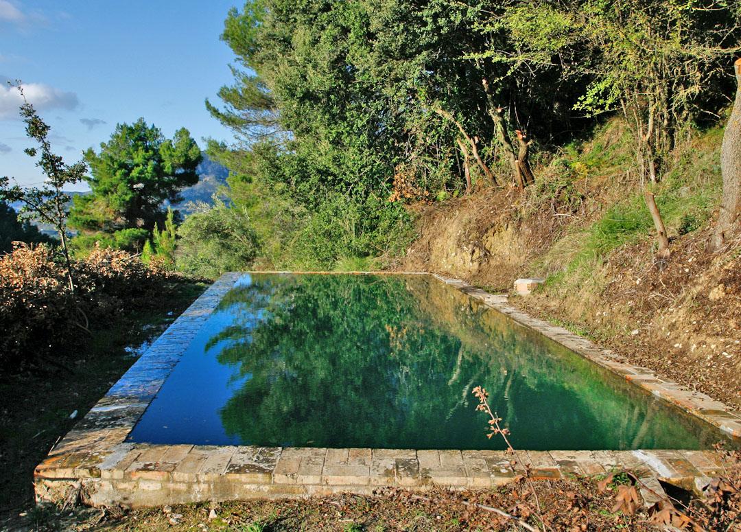 Fuente Riola Romeu ubicada dentro del término municipal de Alcoleja