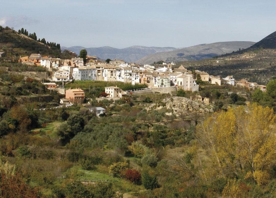 Alcoleja, municipio de la comarca del Comtat