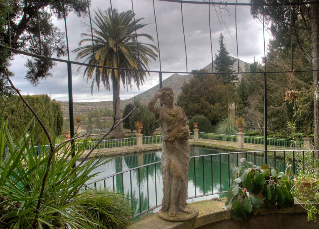 Jardín de Santos, recóndito y desconocido tesoro de Penàguila