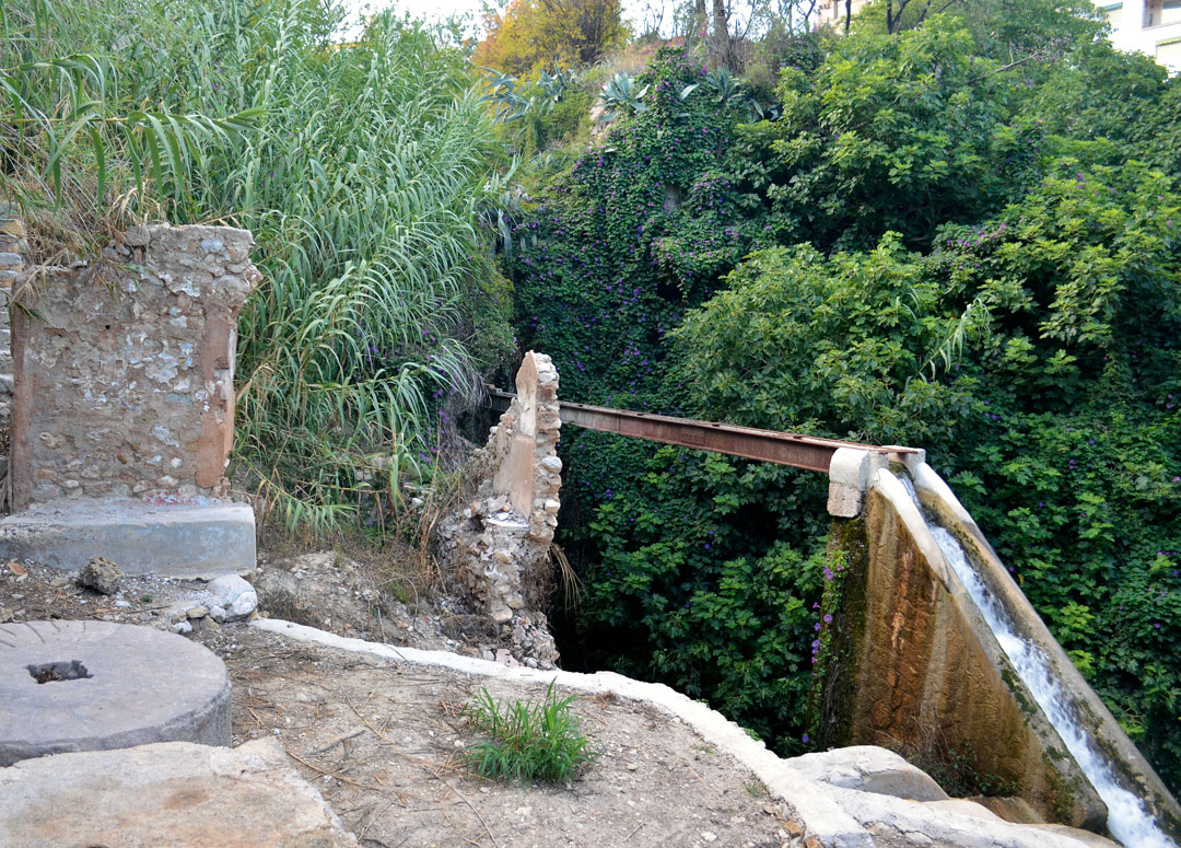 Ruins of Soler Mill in el Barranco de Polop