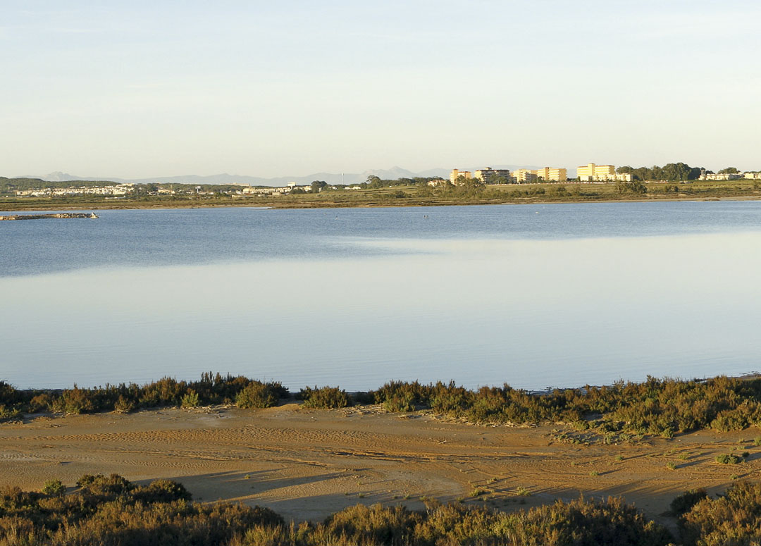 La Mata Lagoon. Panoramic view